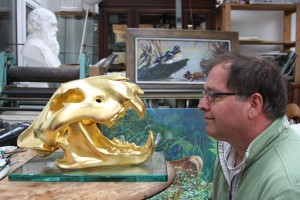 Gilded Tiger and Martin Hayward-Harris