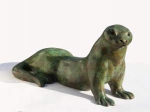 Stretching Otter by Martin Hayward-Harris
